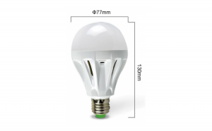 Bec LED economic dulie E27 9W 6500K ( Lumina Rece) Iluminare pentru casa