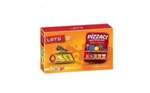 Set plastilina Pizza Lets, 10 accesorii, Ziua copilului, Baietei