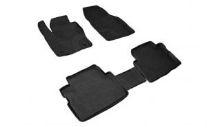 Covoare / Covorase / Presuri cauciuc stil tip tavita FORD C-Max 2003-2010 (5 bucati) - SEINTEX
