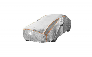 Prelata auto impermeabila cu protectie pentru grindina Volvo C70 - RoGroup, 3 straturi, gri