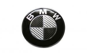 Emblema BMW, montare pe capota, 82mm
