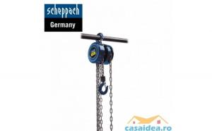 Palan manual cu lan   CB01 1000 Kg Scheppach