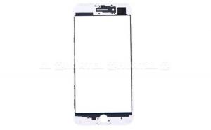 Touchscreen Digitizer cu rama pentru iPhone 7 Plus white
