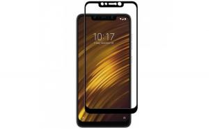 Folie sticla securizata Full Glue pentru Xiaomi Pocophone F1  Negru