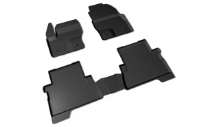 Covoare / Covorase / Presuri cauciuc stil tip tavita FORD Kuga II dupa 2012-prezent (5 bucati) -SEINTEX