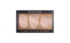 Set 3 Bureti Silicon Makeup Revolution Ultimate Silicone Sponges