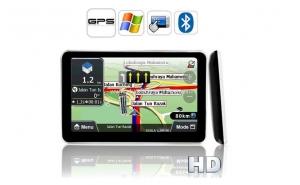 """GPS Auto, Sistem de Navigatie MTK 4GB, Display LCD 5"""", touchscreen, compatibil cu hartitele din EU (inclusiv Romania), UK, AU, NZ la numai 259 RON de la 610 RON RON"""