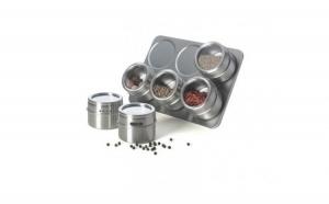 Set de condimente cu suport magnetic Grunberg, la doar 57 RON in loc de 114 RON