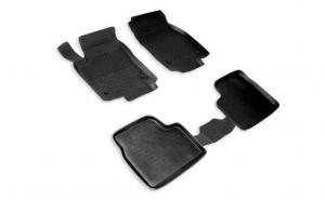 Covoare / Covorase / Presuri cauciuc stil tip tavita OPEL Astra G 1997-2008 (5 bucati) - SEINTEX