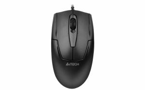 Mouse cu Senzor Optic 1000 dpi, USB, Negru