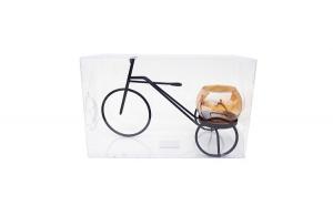 Suport lumanari  in forma de tricicleta,