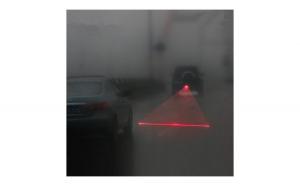 Lumina laser pentru ceata-Partea spate