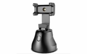Suport pentru telefon cu fotografiere automata si rotire 360 de grade, Bluetooth