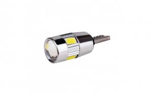 Set becuri LED T10 - W5W, 5 SMD, 3030