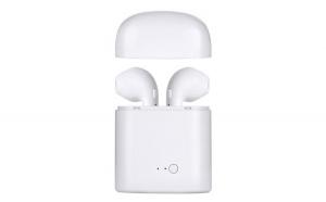 Casti i7 MINI Calitate premium, Wireless Bluetooth 4.2 High Definition Music, Microfon Telefon, Clear Crystal Sound