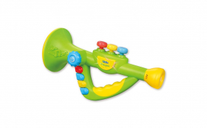 Trompeta muzicala pentru copii cu sunete si lumini, MZ1003-B