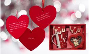 Set Valentine's Day si Dragobete, Ziua indragostitilor, Voi doi
