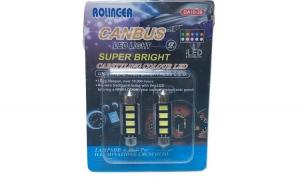 Set 2 Bec Led, 41mm CanBus, Gama
