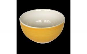 Bol ceramica 14cm galben Keramik 0121101