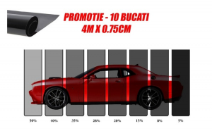 PROMOTIE - 10 BUCATI - Folie omologata ART - DRK 4m X 0.75m