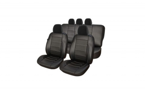 Huse Scaune Auto SKODA OCTAVIA II ( 2004-2010)  Exclusive Leather King