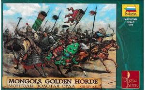 1:72 Mongols - Golden Horde XIII - XIV century - 19 figures 1:72