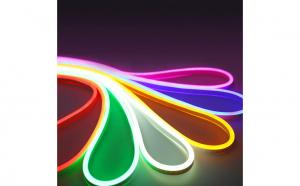 Banda LED auto Neon Flex 5 metri 24V - ROSU