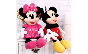 SET JUCARII MICKEY MOUSE + MINNIE MOUSE