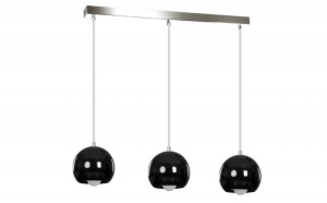Lustra BALL 3 BLACK