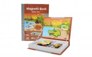 Puzzle Carte Magnetica Animale