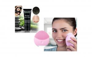 Aparat curatarea tenului + Masca neagra