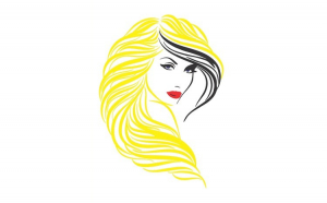 Sticker decorativ, Woman, 80 cm,