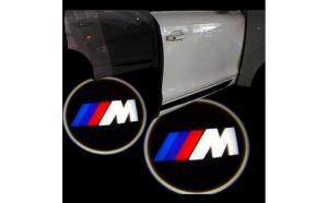 Proiectoare Portiere cu Logo BMW ///M -
