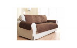 Pachet Husa din material textil pentru canapea + Husa textila, de protectie pentru fotoliu , dubla