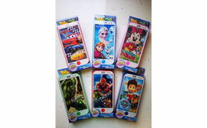 Telefon Mobil cu diferite personaje cu sunete si lumini