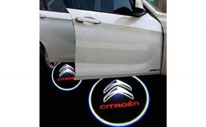 Proiectoare Portiere cu Logo Citroen  -