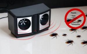 Aparat cu Ultrasunete anti rozatoare si anti insecte