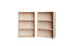 Biblioteca cu 3 rafturi Vela Stejar 115