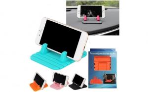 Set 4 suporturi antiderapante pentru telefonul mobil, tableta sau GPS - pentru toata familia
