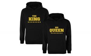 Set de hanorace King/Queen Stars COD