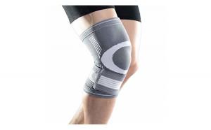 Orteza de genunchi elastica, fabricata din material textil