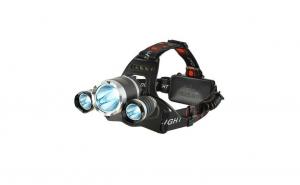Lanterna de cap cu 3 LED-uri CREE, 3800 Lm, 5W