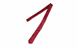Cravata cu aspect matasos, visiniu