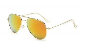 Ochelari de soare Aviator - Orange/Gold