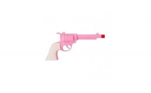 Pistol de jucarie Western, 24 cm, roz