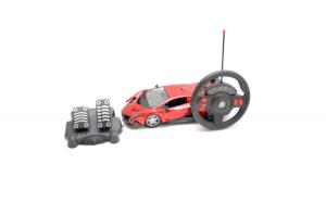 Masinuta electrica cu volan si pedale