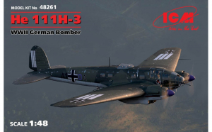 1:48 He 111H-3, WWII German Bomber (100%