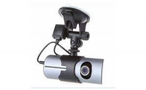 Camera auto DVR FreeWay™ R300, GPS, camera dubla, 720p@30fps HD, baterie incorporata, G-senzor, lentile Sony , super night vision, mod de noapte automat, 2.7 inch LCD, unghi de filmare 140 grade, inregistrare ciclica ( bucla ) , negra