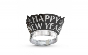 "Bentiţa Happy New Year"" - auriu - 2"
