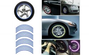 Dungi Jante Autocolante Reflectorizante, Culoare Albastru APT-AG555A